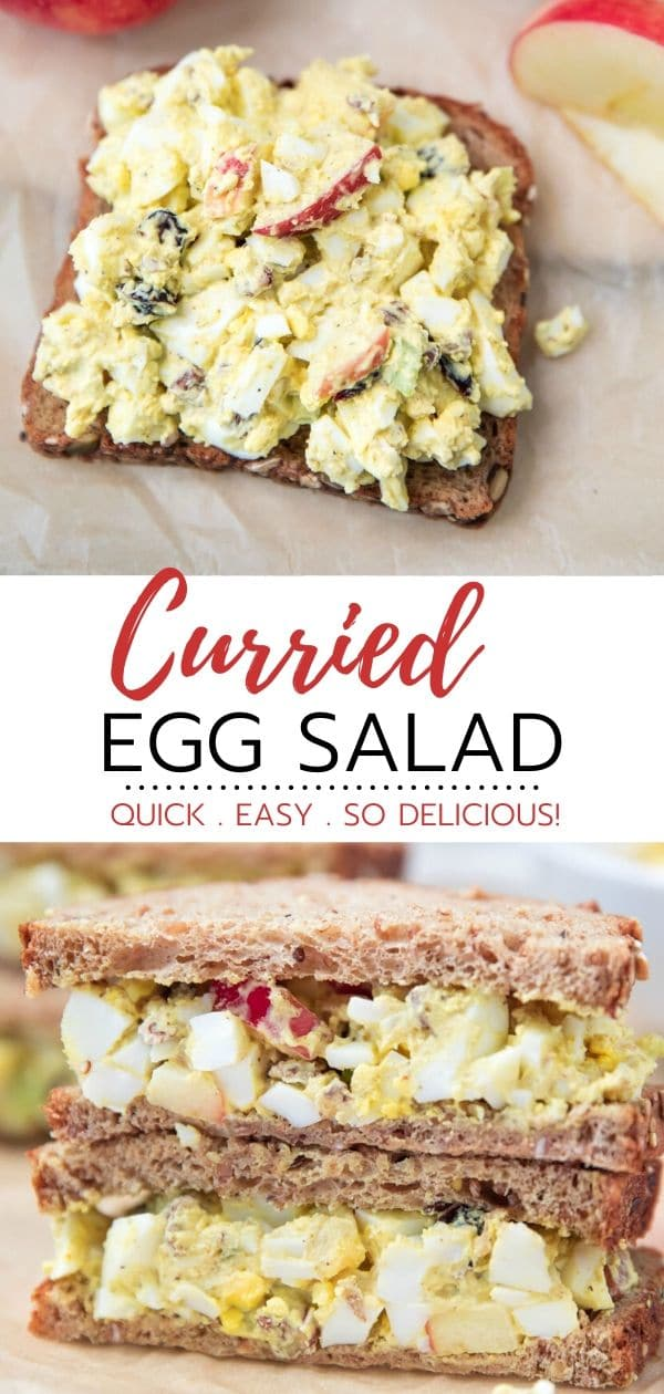 how to make curried egg salad