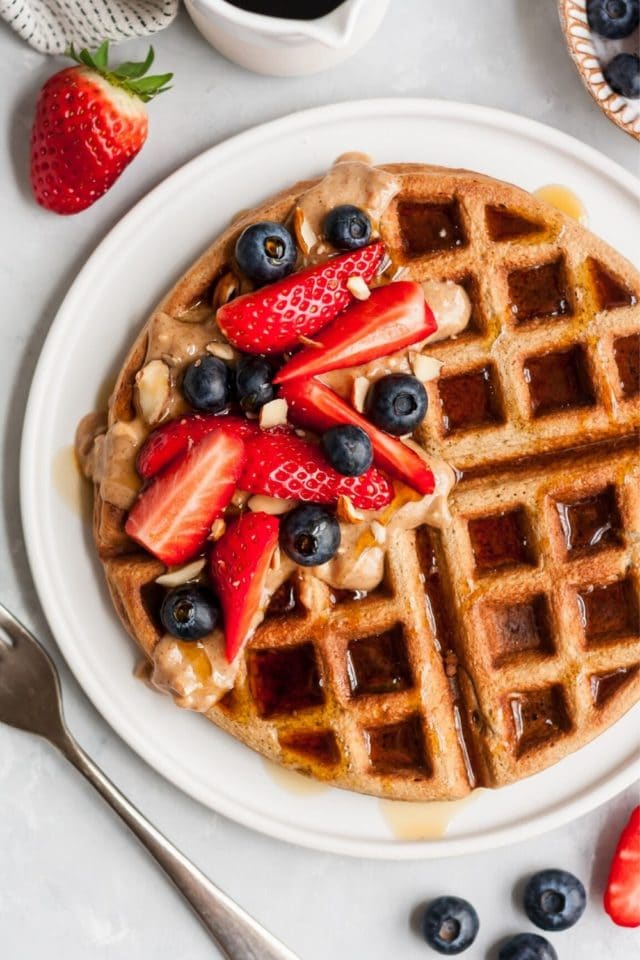 how to make gluten free waffles