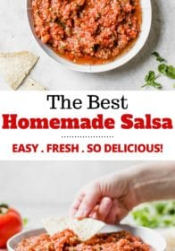 how to make the best salsa at home