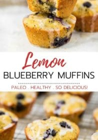 how to make healthy lemon blueberry muffins