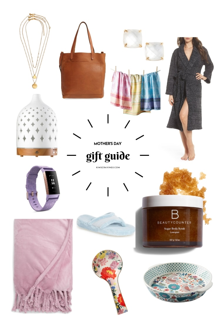 Mother's Day gift guide collage