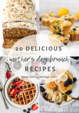 Mother's Day Brunch pinterest collage