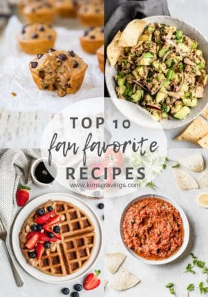 Top 10 Fan Favorite Recipe collage