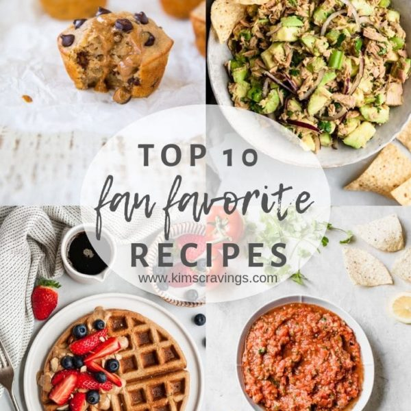 Top 10 Fan Favorite Recipe collage