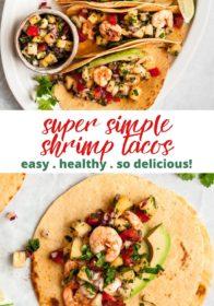 how to make healthy shrimp tacos