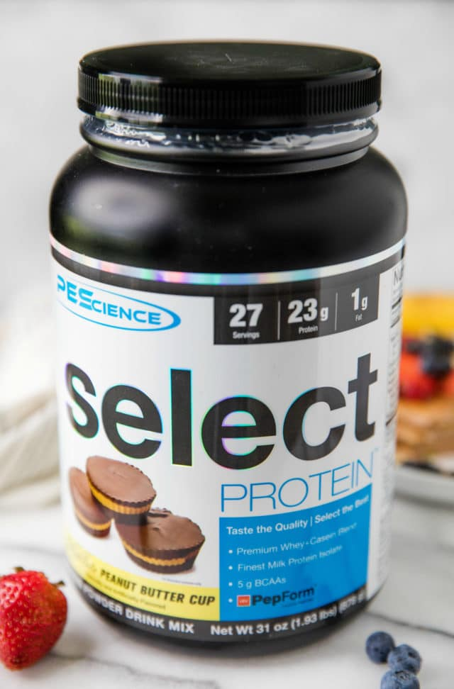 Pescience protein powder for protein pancakes
