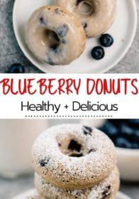 how to make blueberry donuts with a donut pan