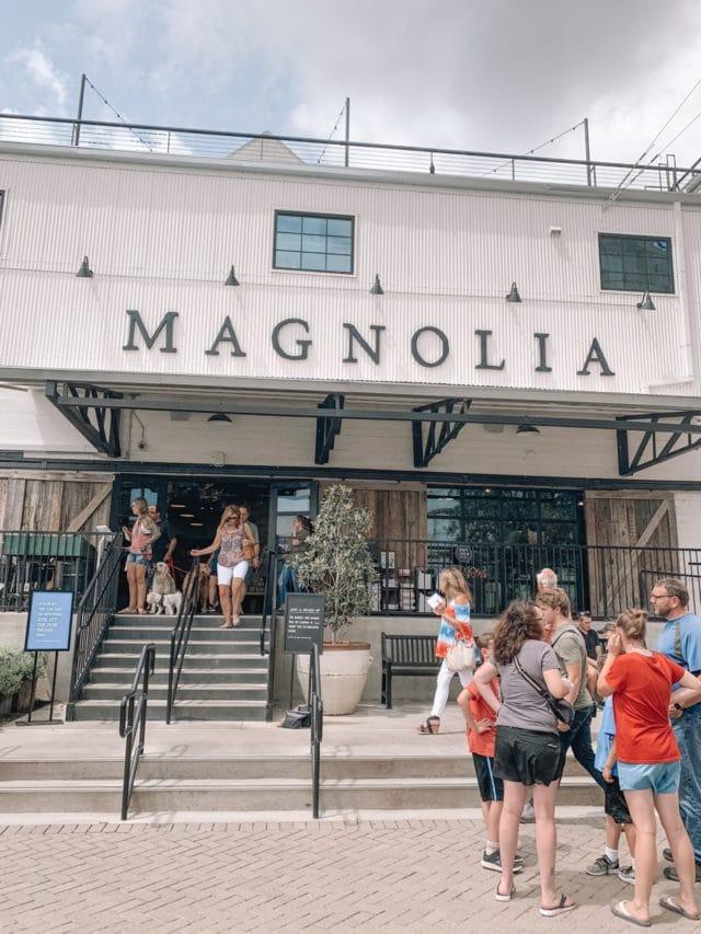 storefront of magnolia market