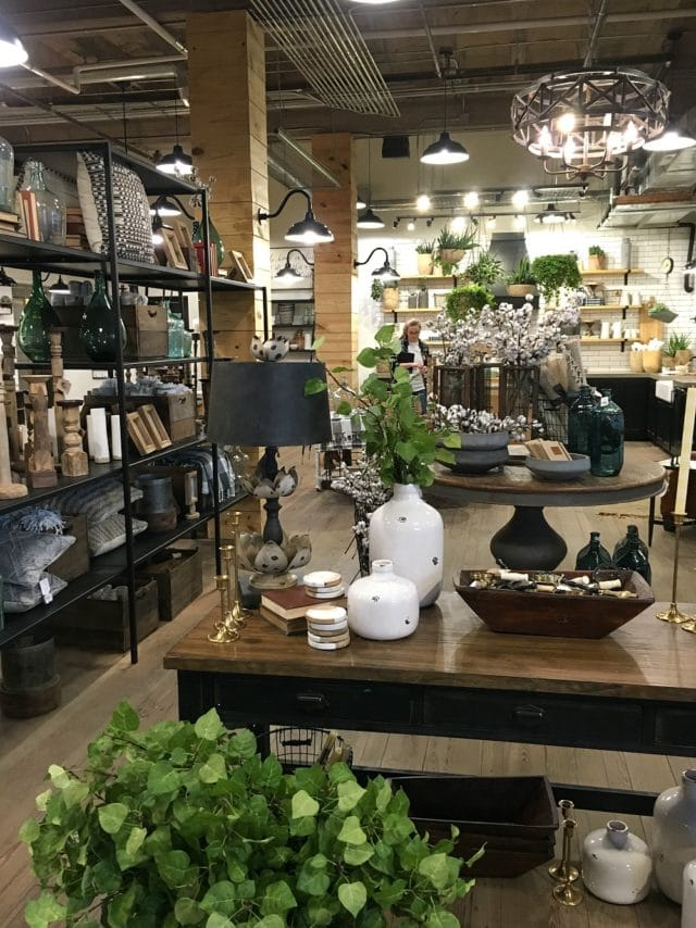 shopping in Magnolia Market