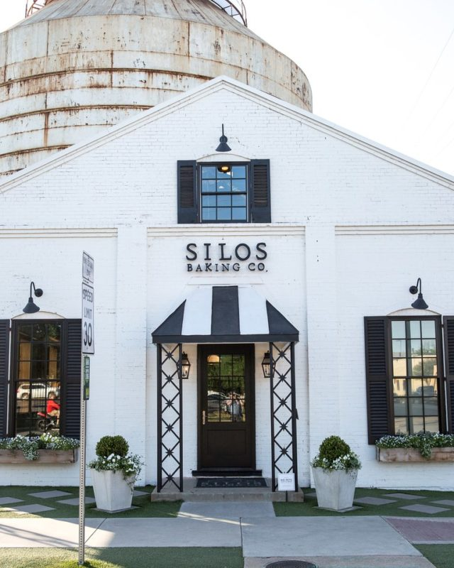 Silos Baking Co. outside of building