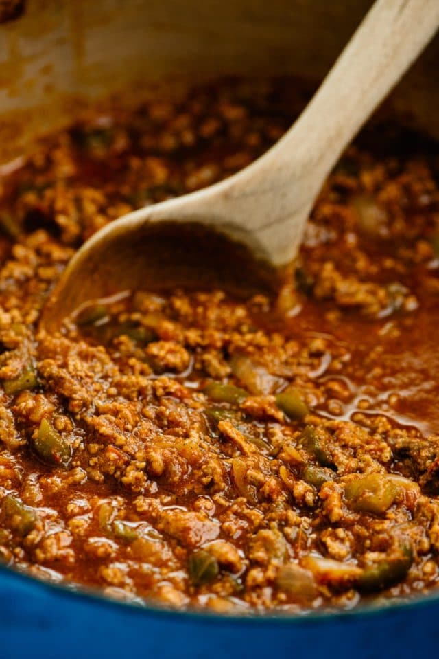 simmer chili for 30 minutes to 2 hours to cook chili