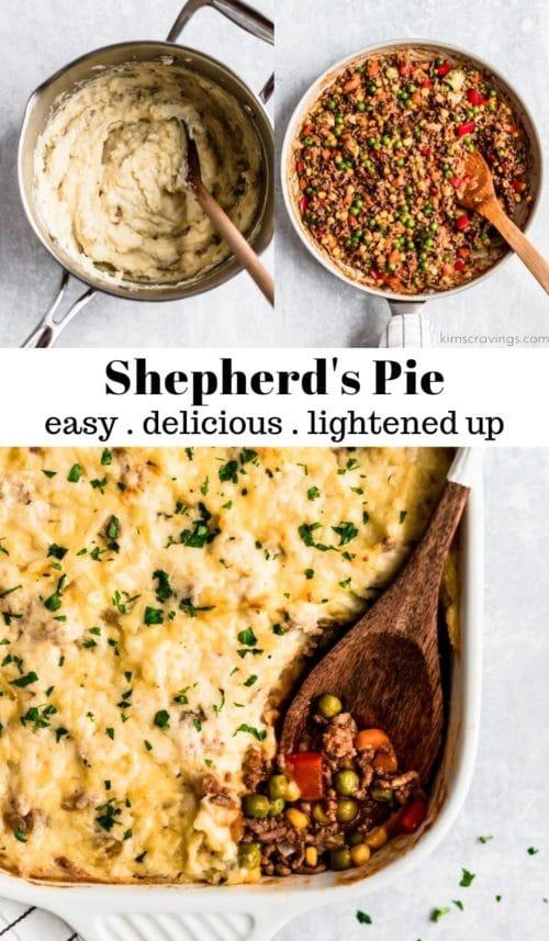 making shepherd's pie