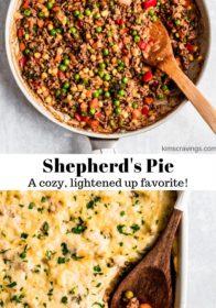 cooking ingredients for Shepherd's Pie