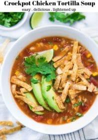 how to make Crockpot Chicken Tortilla Soup