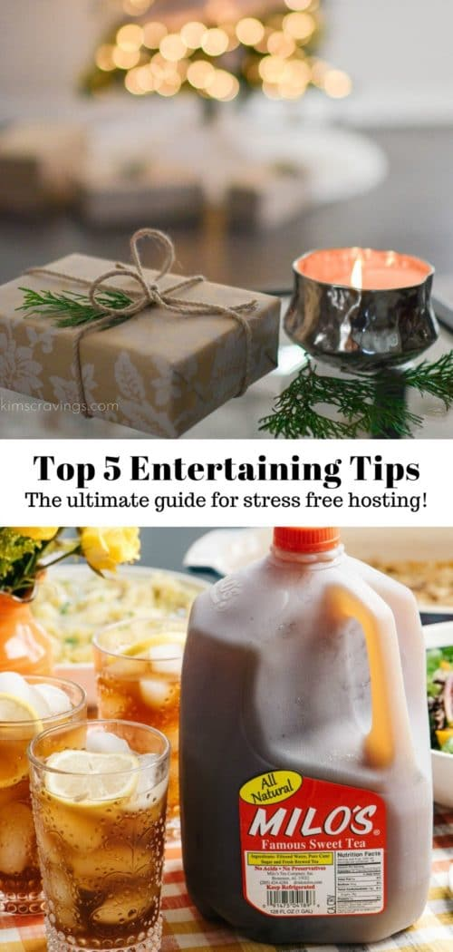 how to host the perfect holiday party