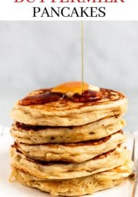 an easy recipe for buttermilk pancakes
