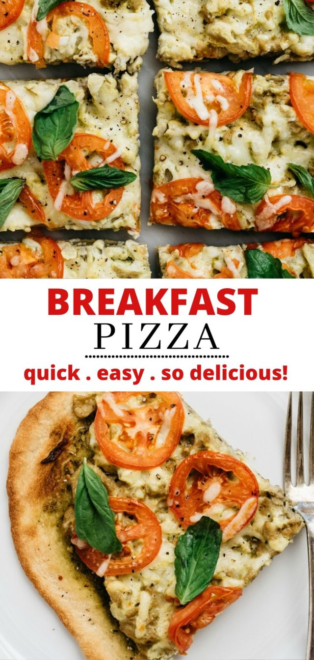 how to make a vegetarian breakfast pizza