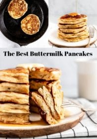 how to make buttermilk pancakes