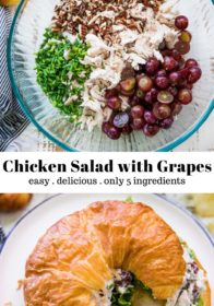 the chicken salad recipe from Joanna Gaines