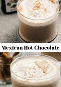 The difference between Mexican hot chocolate and regular hot chocolate