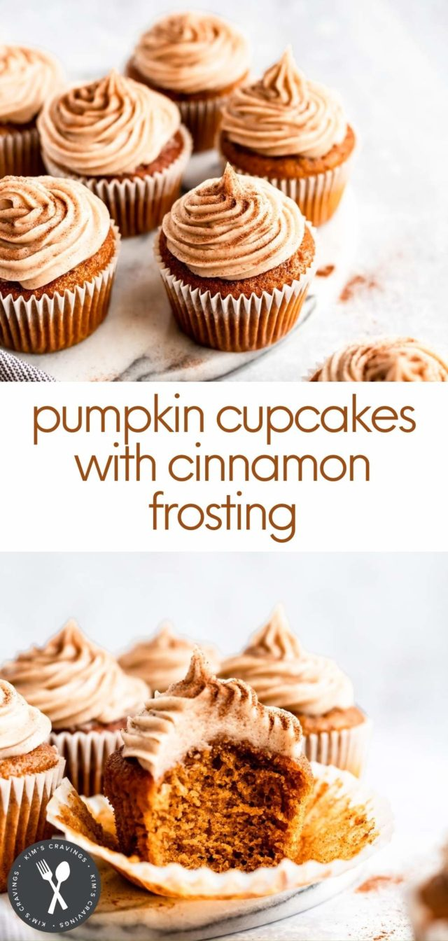 steps how to make pumpkin cupcakes
