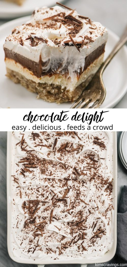 how to make a chocolate delight dessert