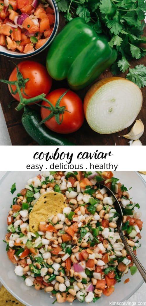 how to make cowboy caviar dip recipe