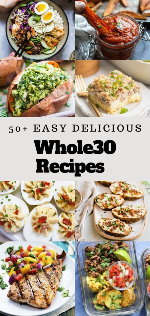 collection of over 50 whole30 recipe ideas