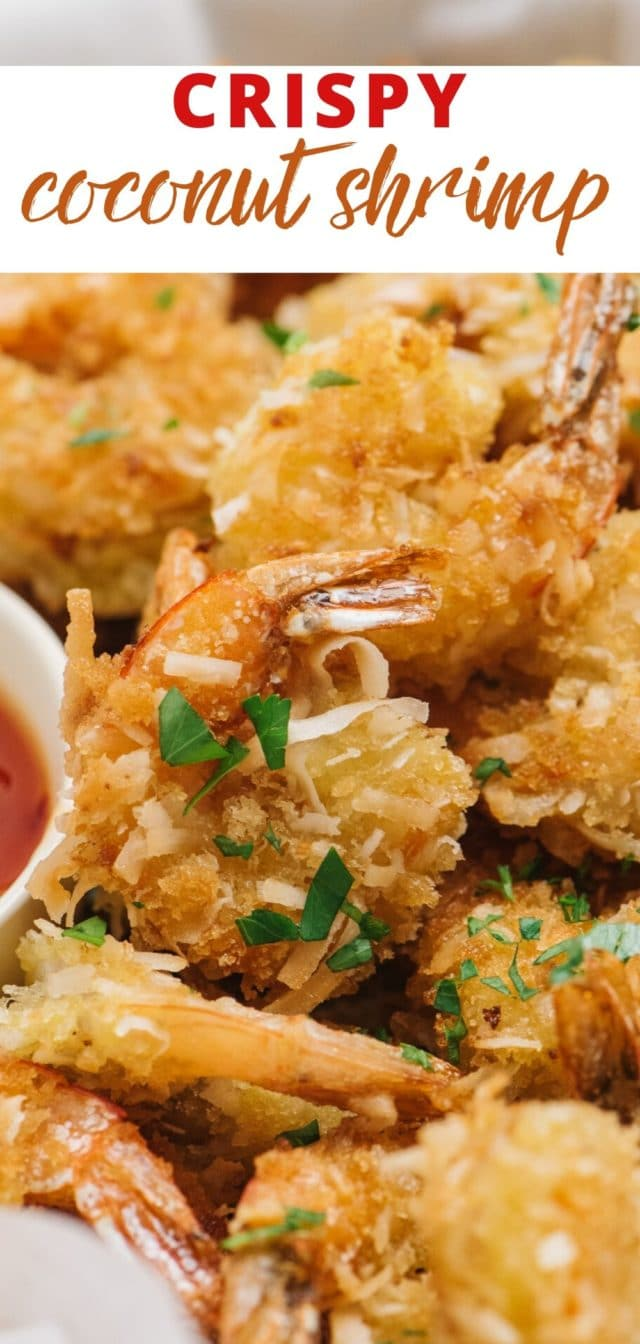 homemade coconut shrimp that's crispy and easy