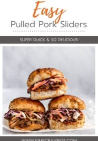 how to make easy pulled pork sliders