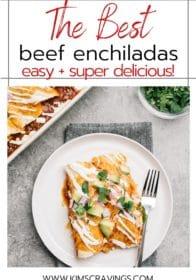 delicious beef enchiladas recipe