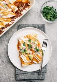 an easy enchiladas recipe for dinner