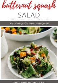 easy butternut squash salad