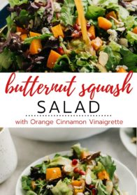instructions for the best way to prepare butternut squash for salad