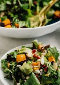how to make a roasted butternut squash salad