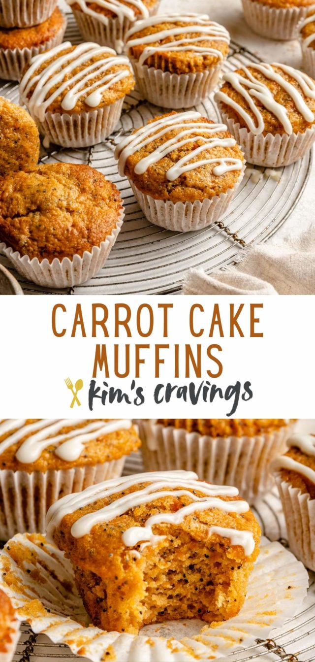 how to make carrot muffins with poppy seeds