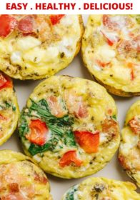 easy egg muffins that are customizable