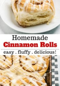 Soft and Fluffy Homemade Cinnamon Rolls