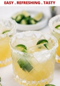 how to make a jalapeño margarita