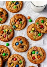 how to make the best M&M Cookies