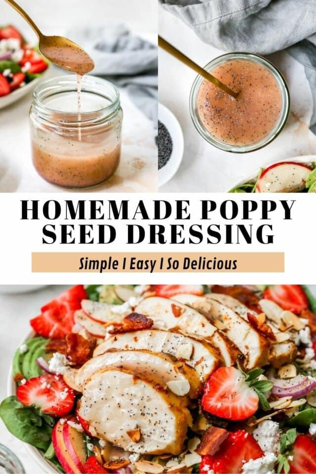 easy homemade poppy seed dressing