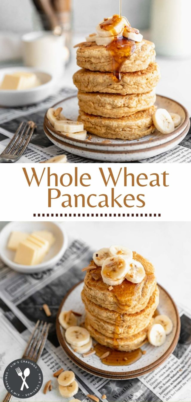 how to make fluffy whole wheat pancakes