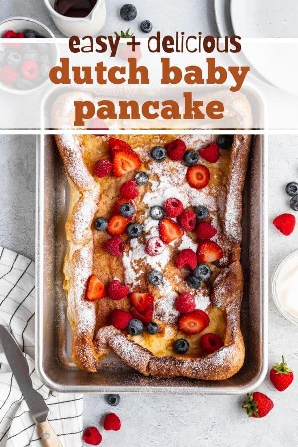 how to make a dutch baby pancake