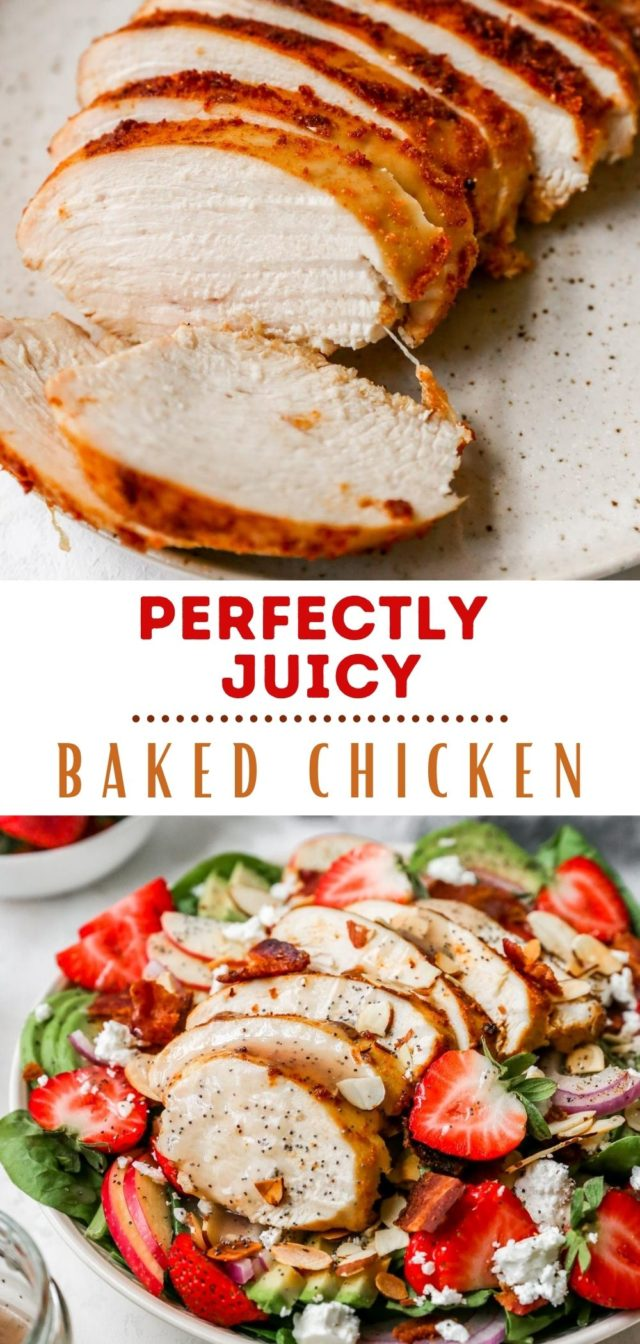 how to cook perfectly juicy baked chicken