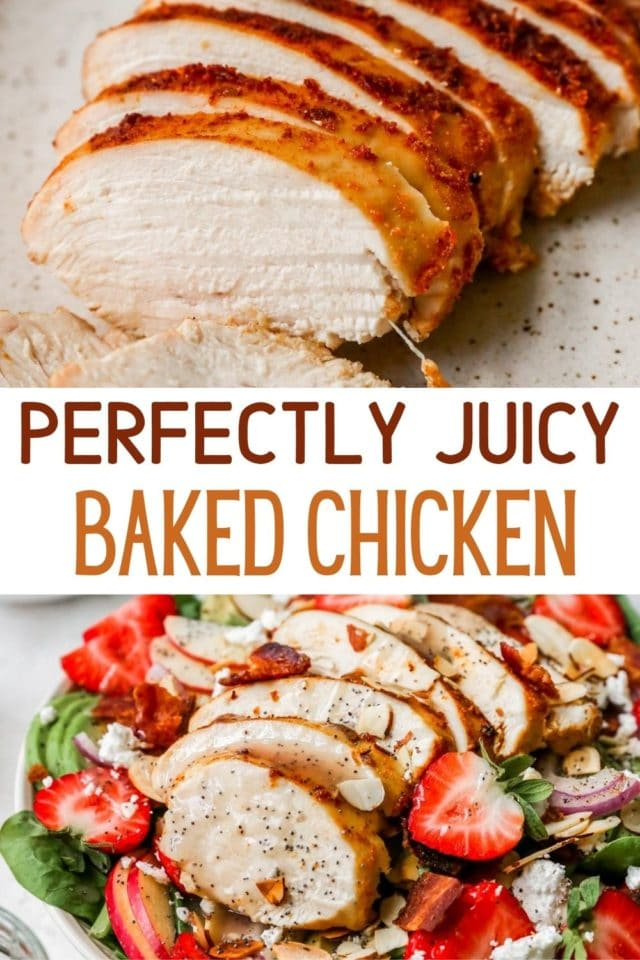 Perfect Oven Baked Chicken Breast