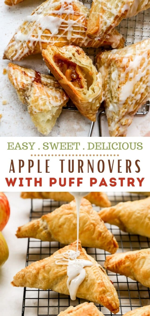 how to make easy apple turnovers with puff pastry