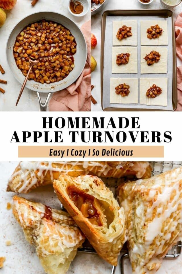 steps for making homemade apple turnovers