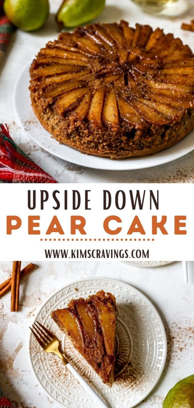 how to make Upside Down Pear Cake