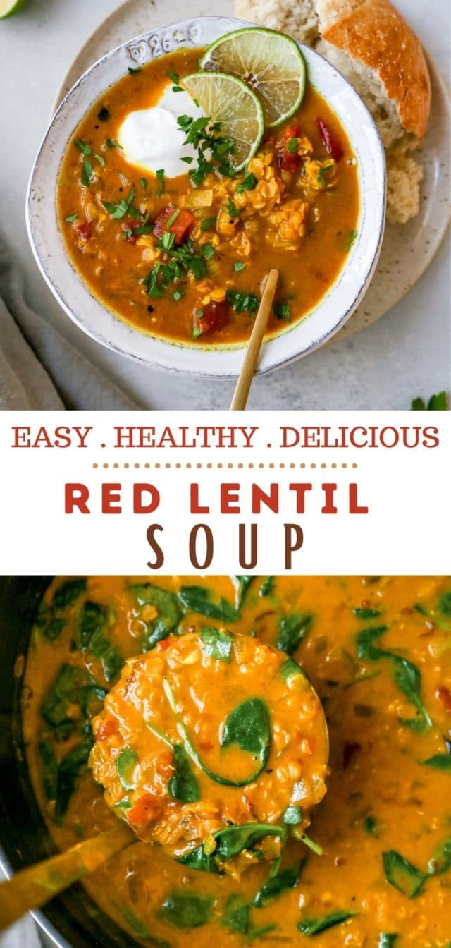 recipe for an easy Red Lentil Soup