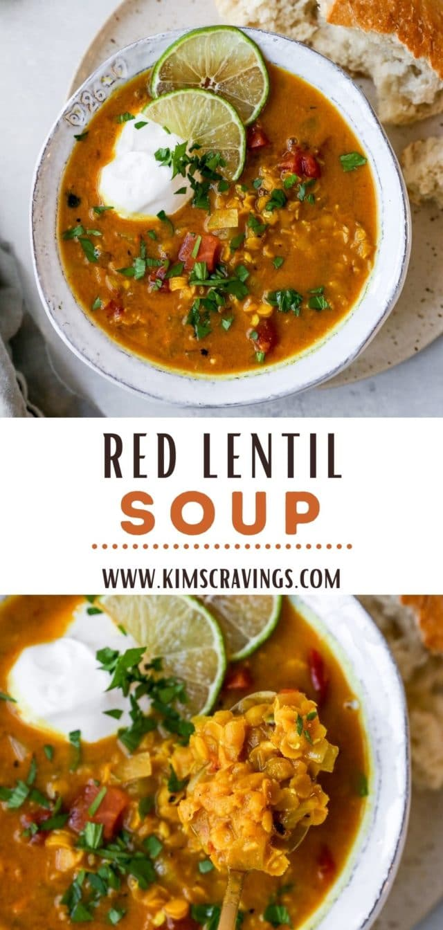 how to make Red Lentil Soup